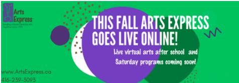 fall arts express